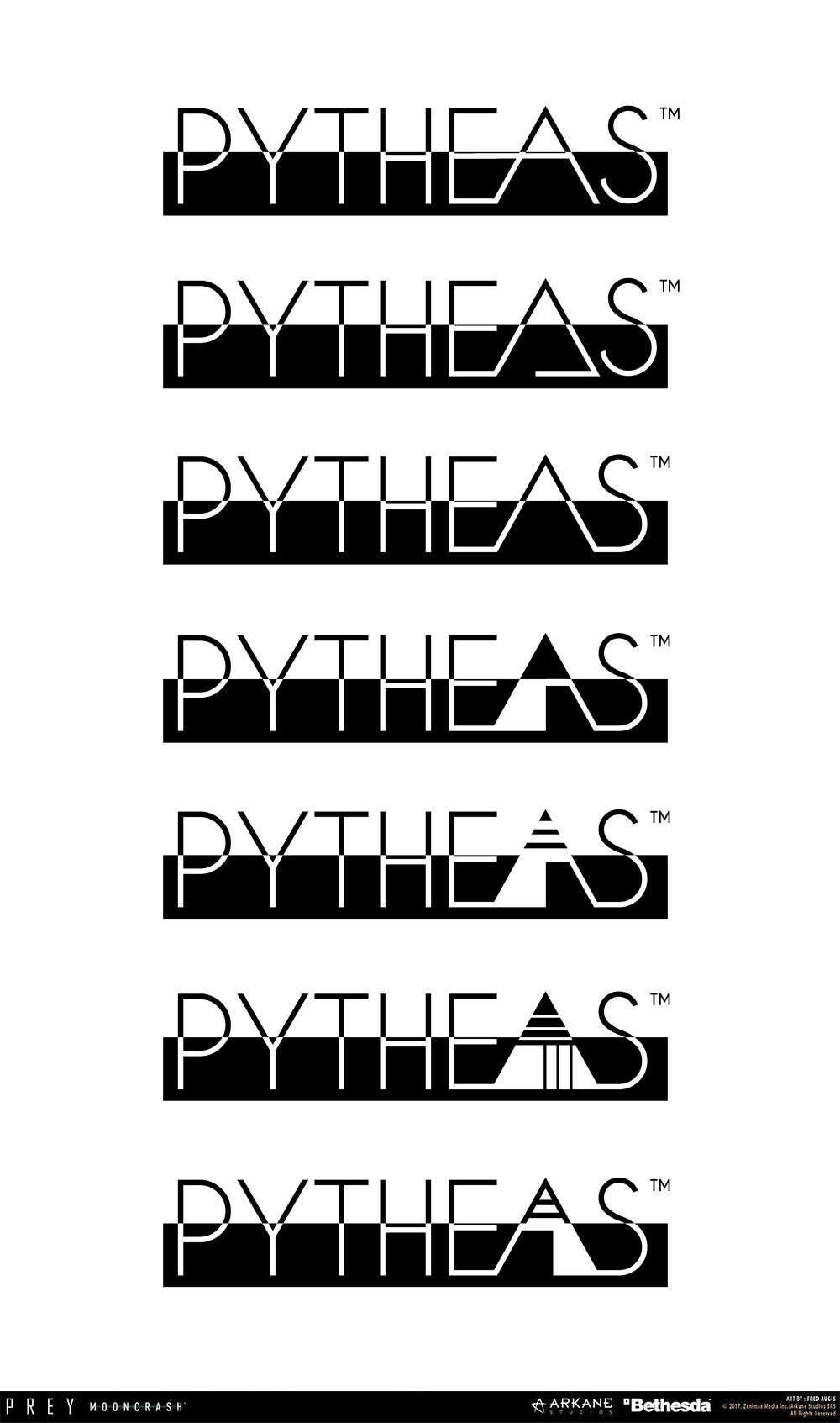 Fred augis pytheas logo textv2b