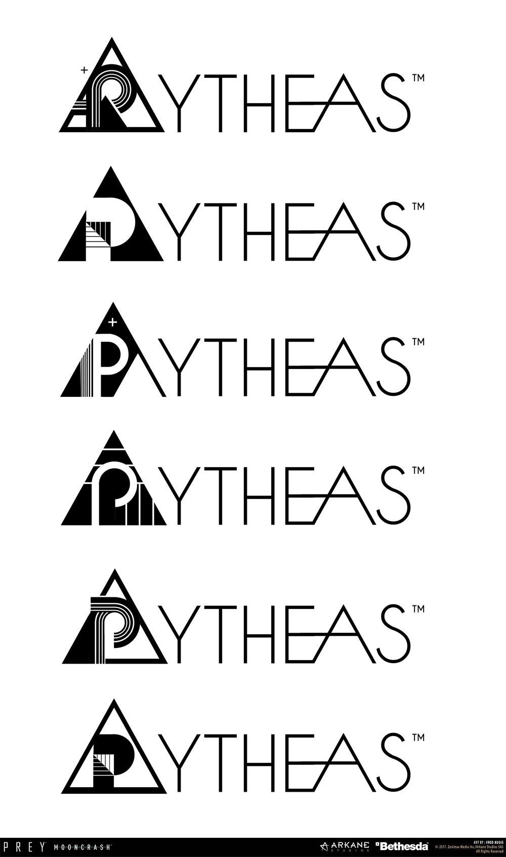 Fred augis pytheas logo textv3