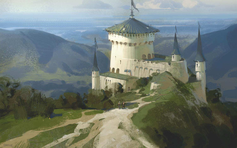 Nick gindraux castle study6 artstation