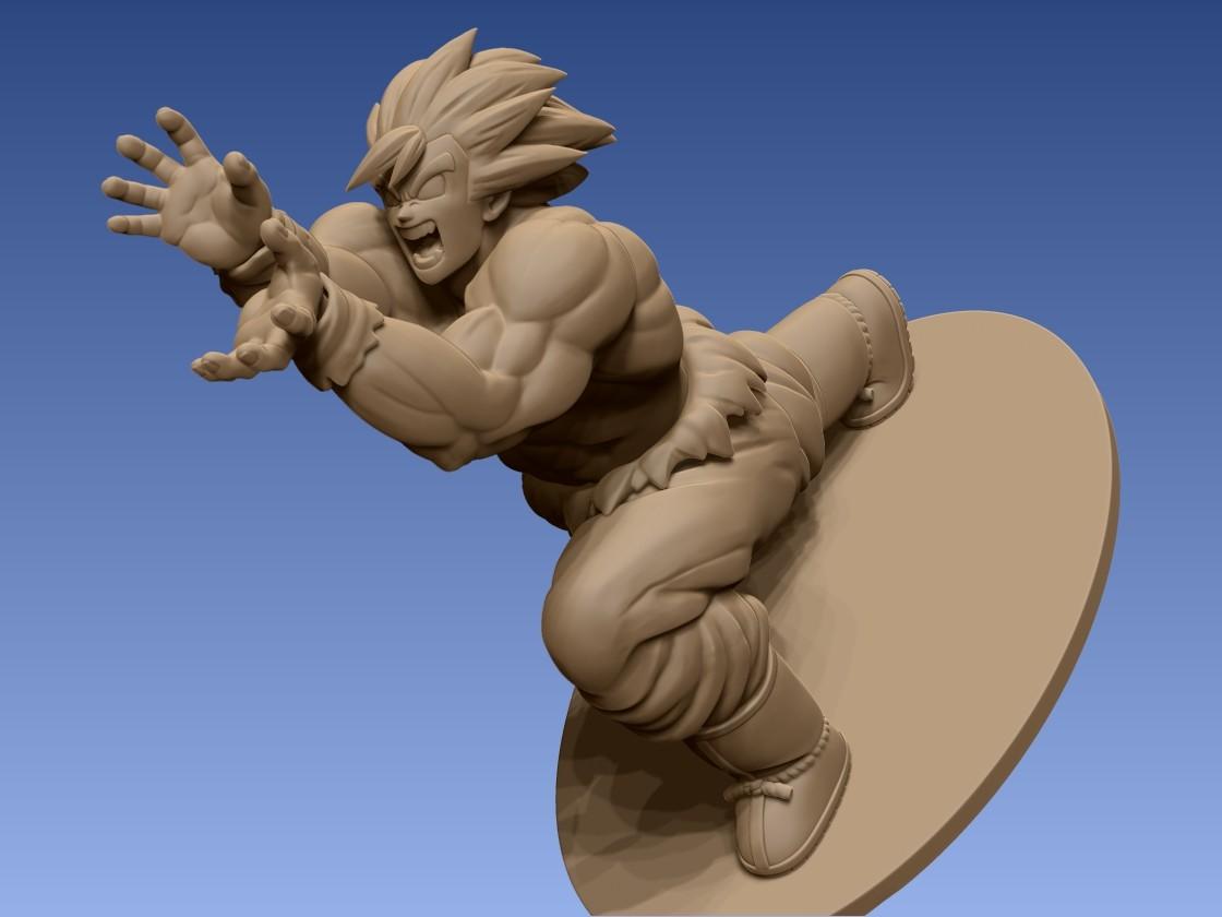 ArtStation - Goku Figurine Sculpt!, Jackson Blair