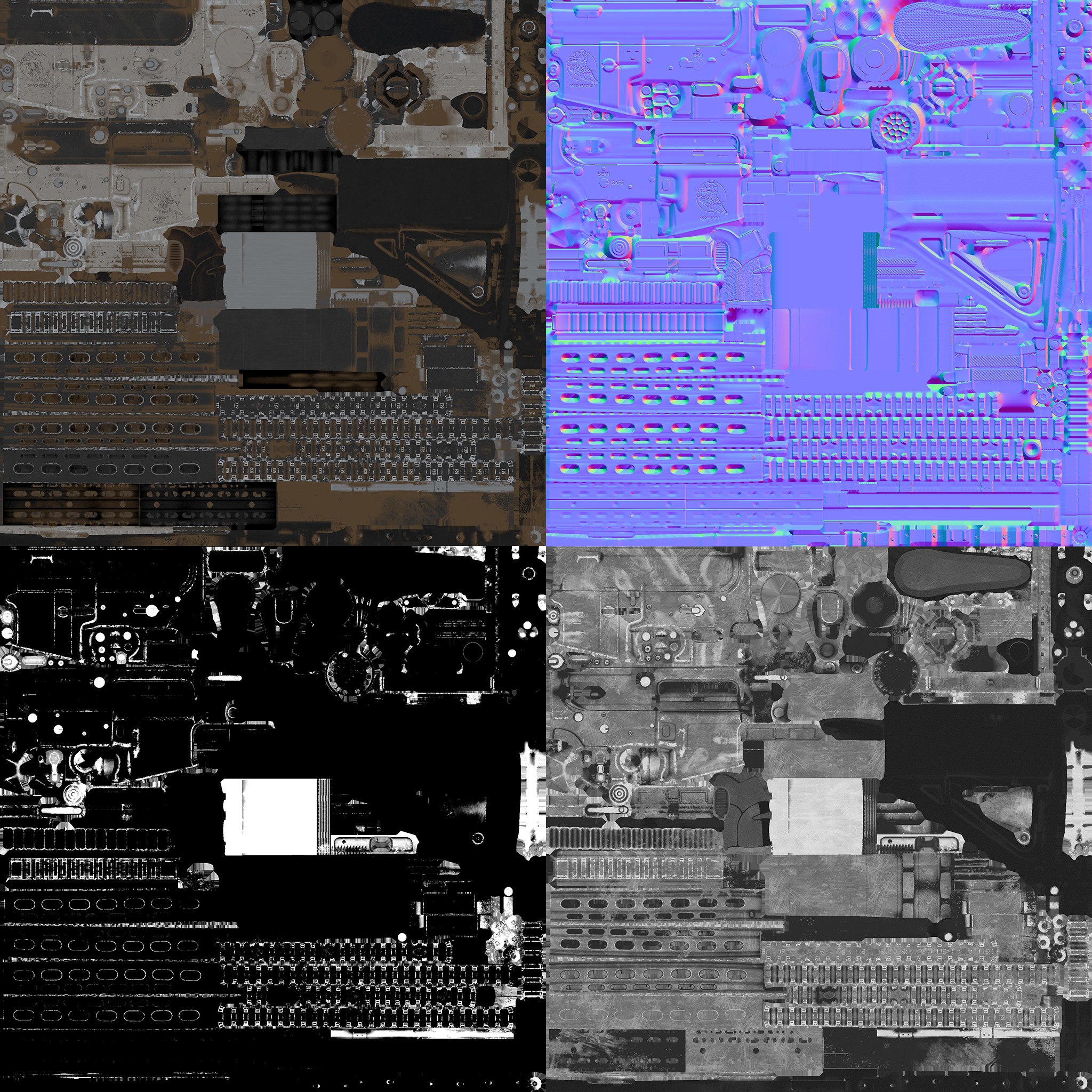 Acouple texture sheets M4
