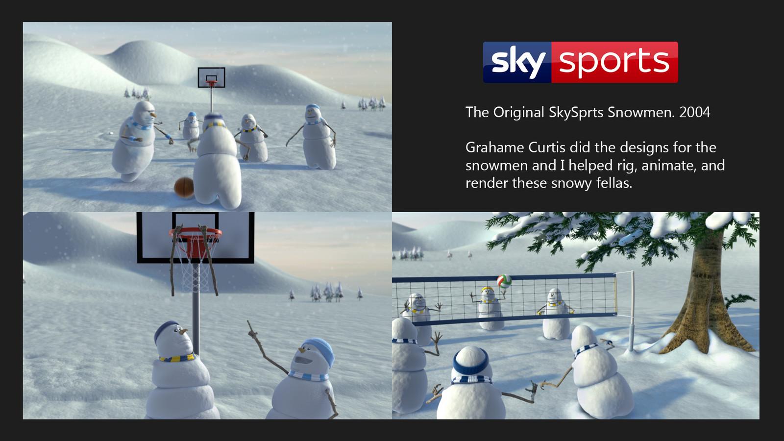 Sky Snowmen