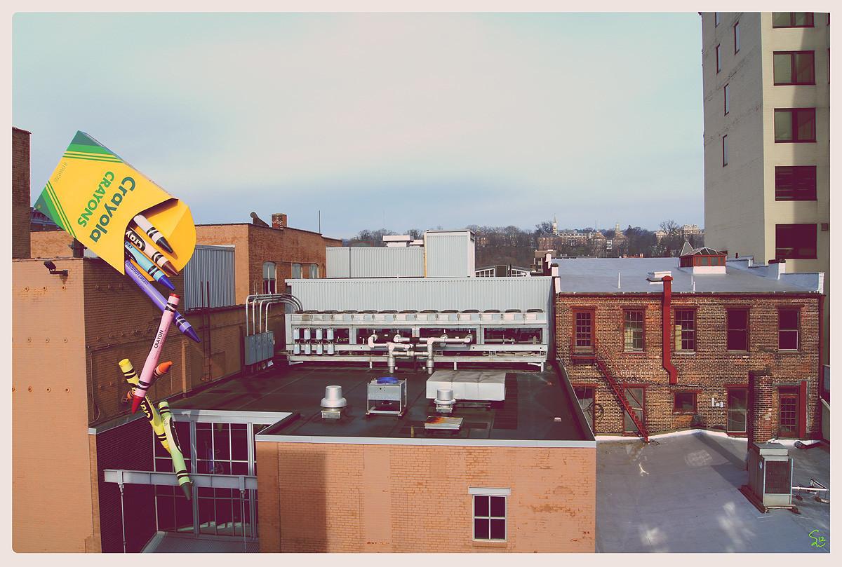 Downtown Easton, PA, 2011.