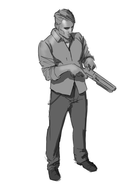 Eric Donner - Sketch