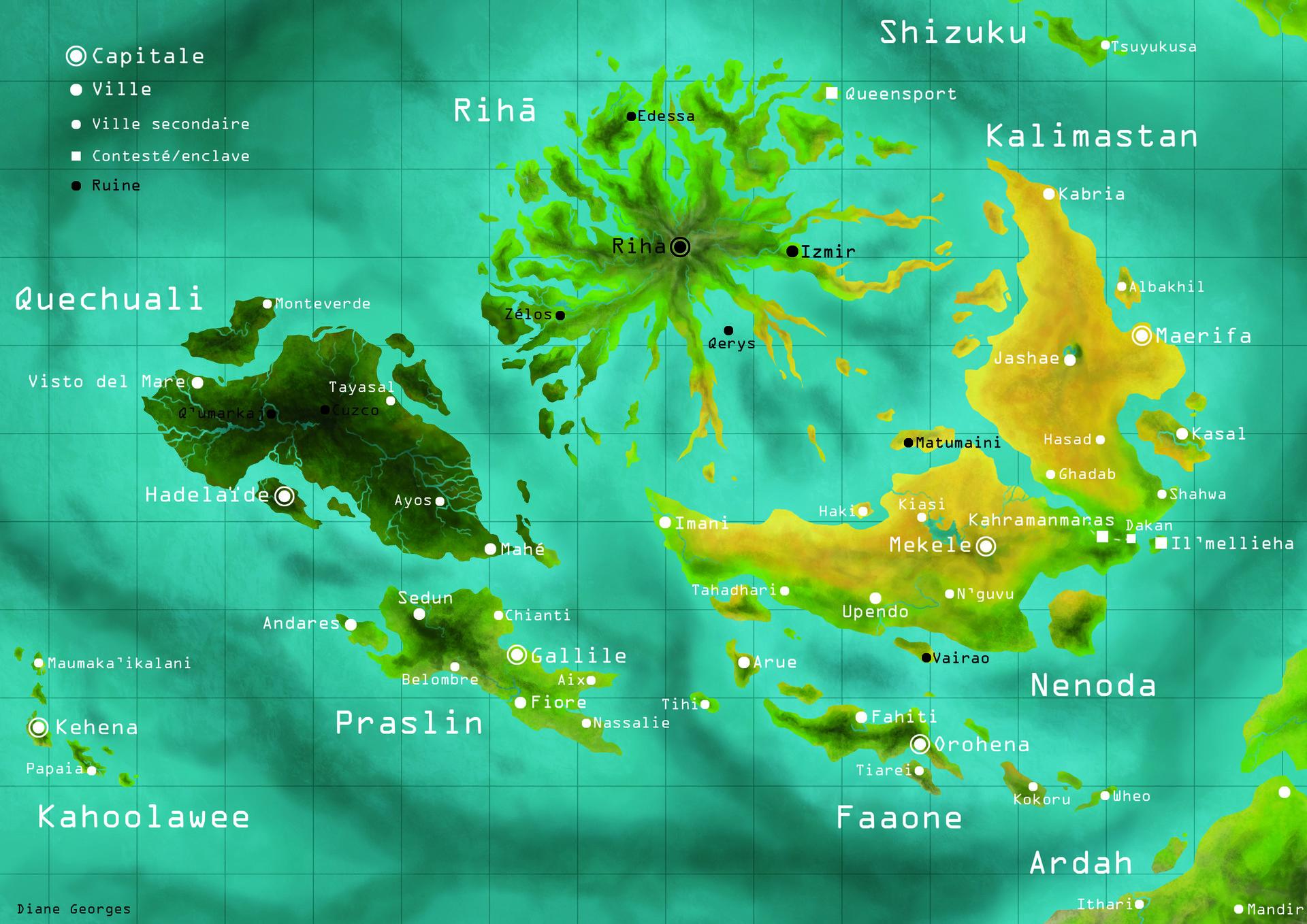Diane georges carte sud ouest
