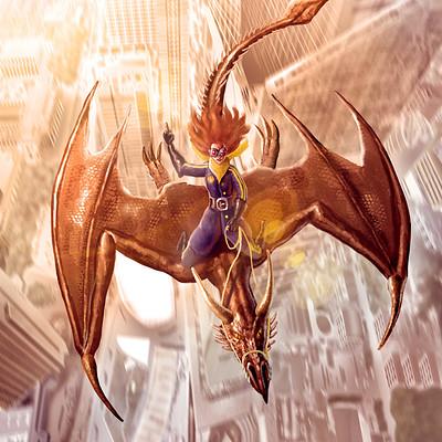 Daniel acosta paseo en dragon bl