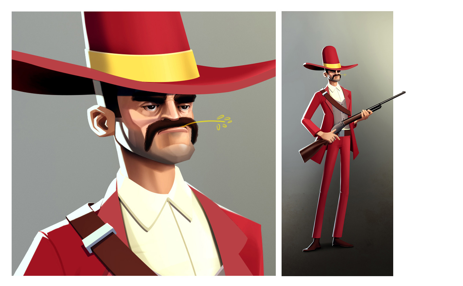 """Lawman - character for """"Just the Shadow"""" 2018"""