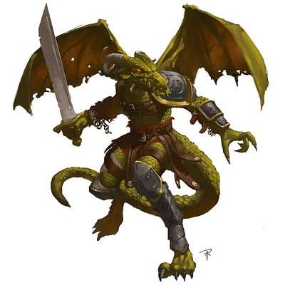 Aaron j riley mayfair dragon man redo