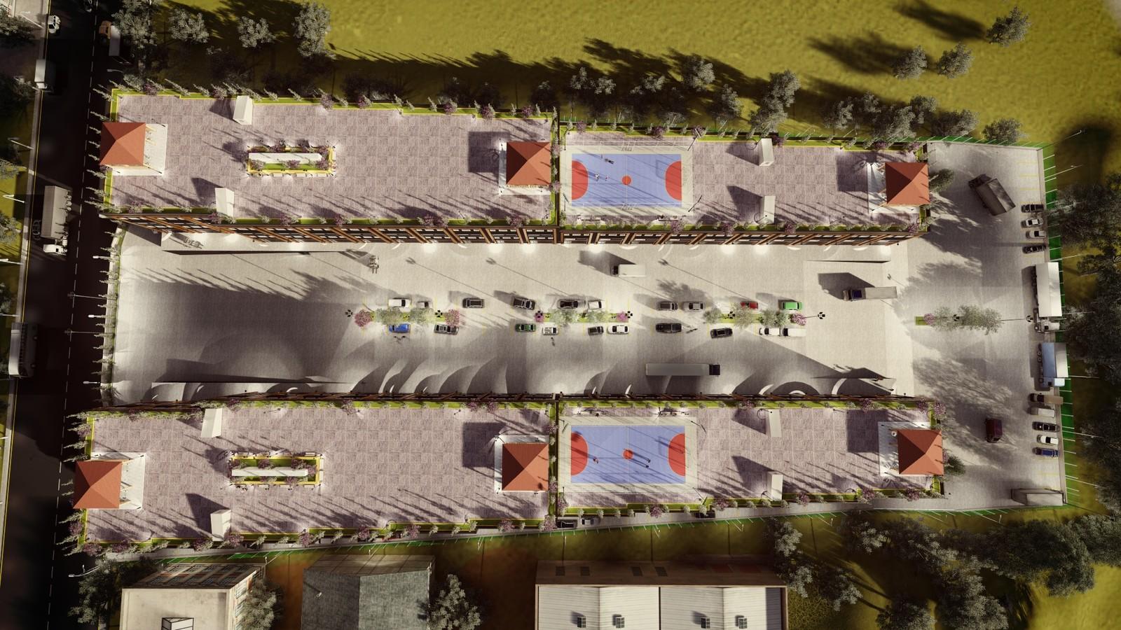 ModSan Industry Area Plan  #istanbul  #pendik #tuzla #industry #cgi #architecture #3dvisualization