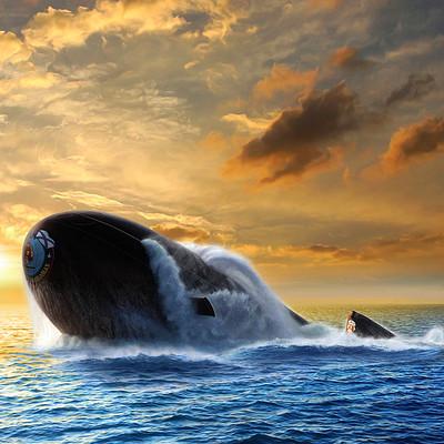 Valery petelin borei class submarine