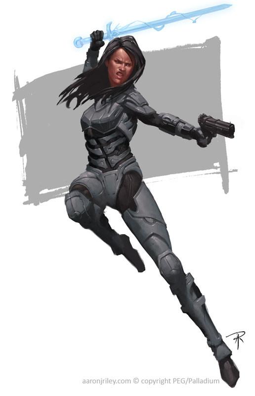 Sarenna Cyber Knight