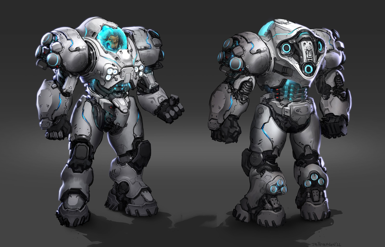 Starcraft II Umojan Guards