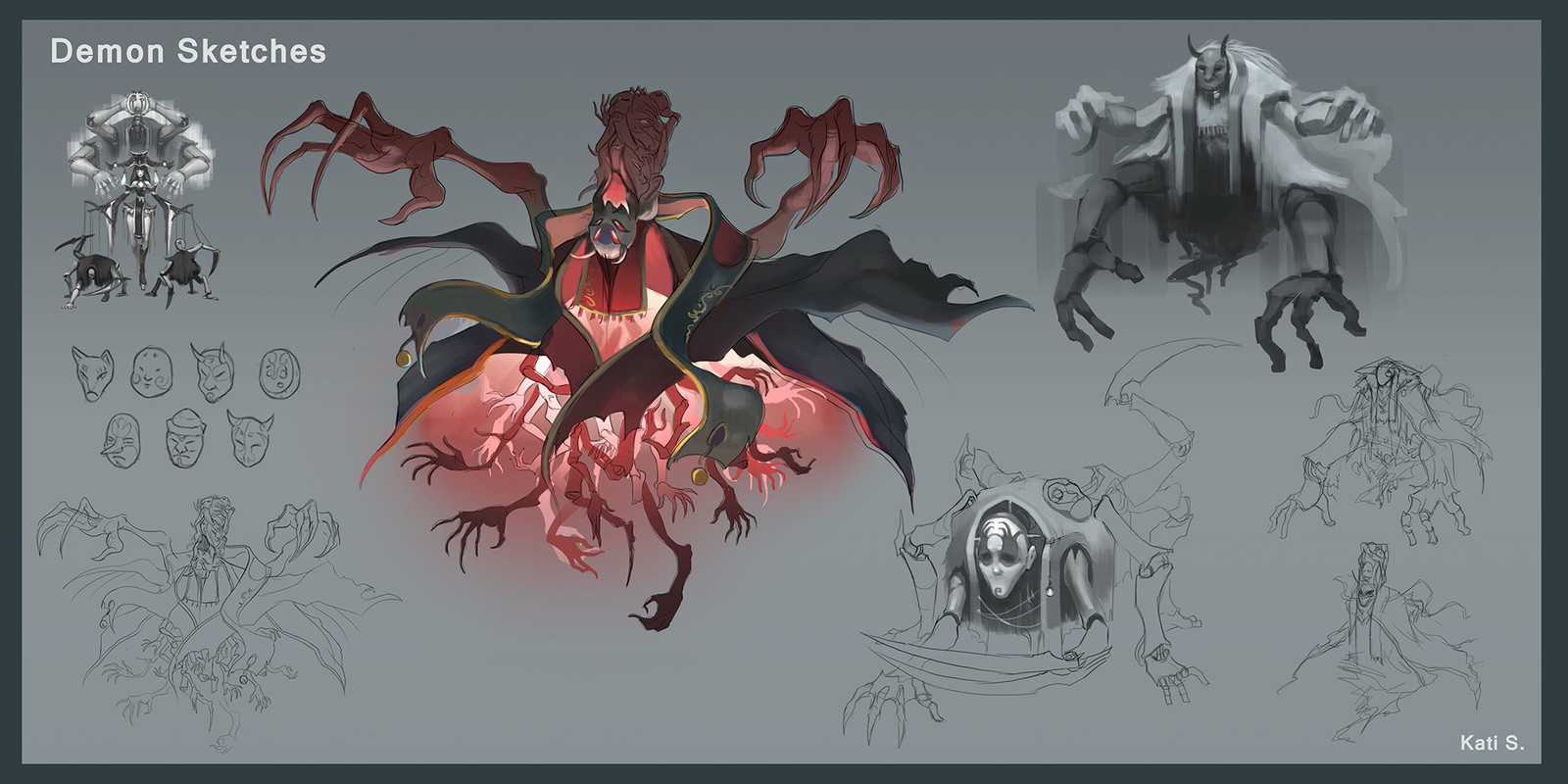 The demonic ghost concept