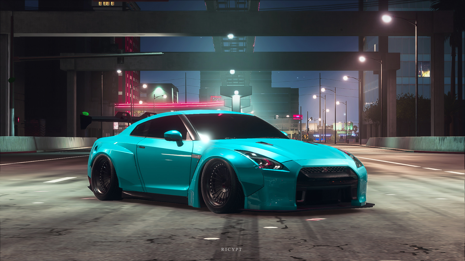 Artstation Need For Speed Payback Lb Nissan Gt R R35 3 Rico Yupita