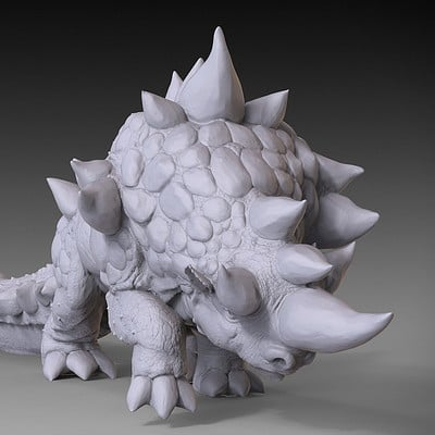 Jia hao 2017 gigathorn digitalsculpting 02