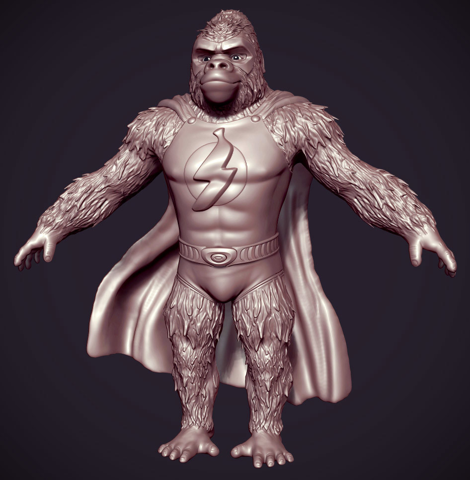Jan jinda gorila zb