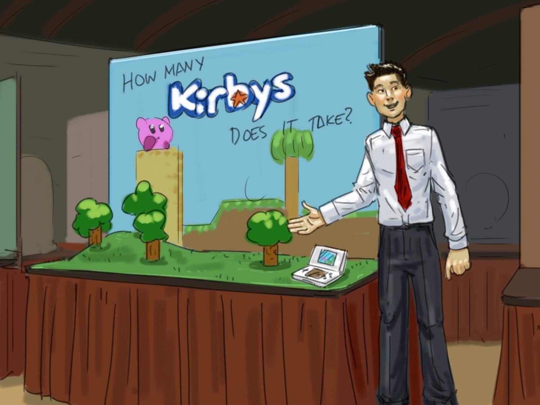 Nintendo 3DS Kirby Spots
