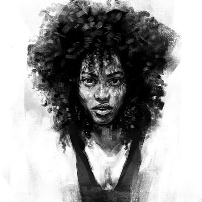Tomek larek woman sketch tomek larek