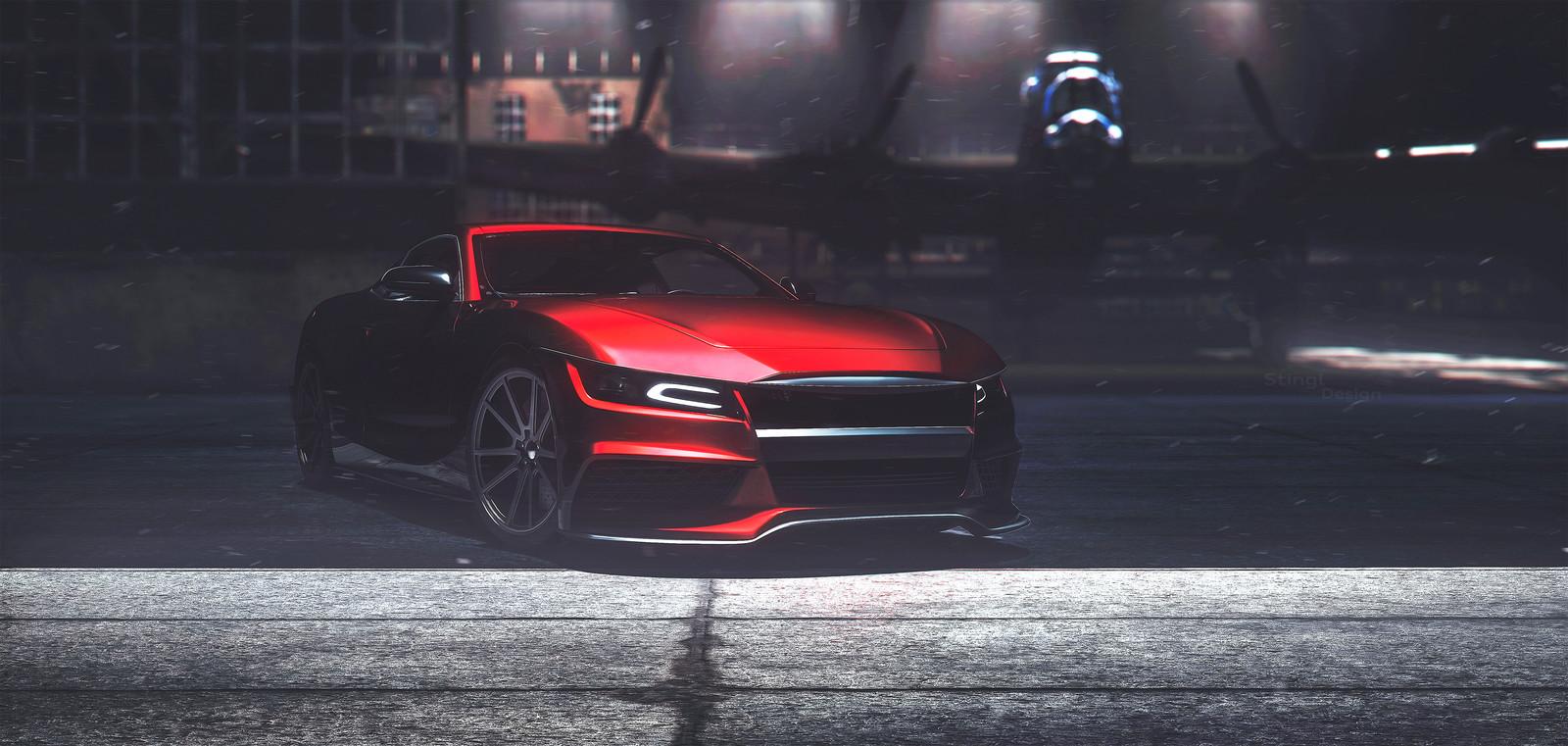 Tauler coupé concept