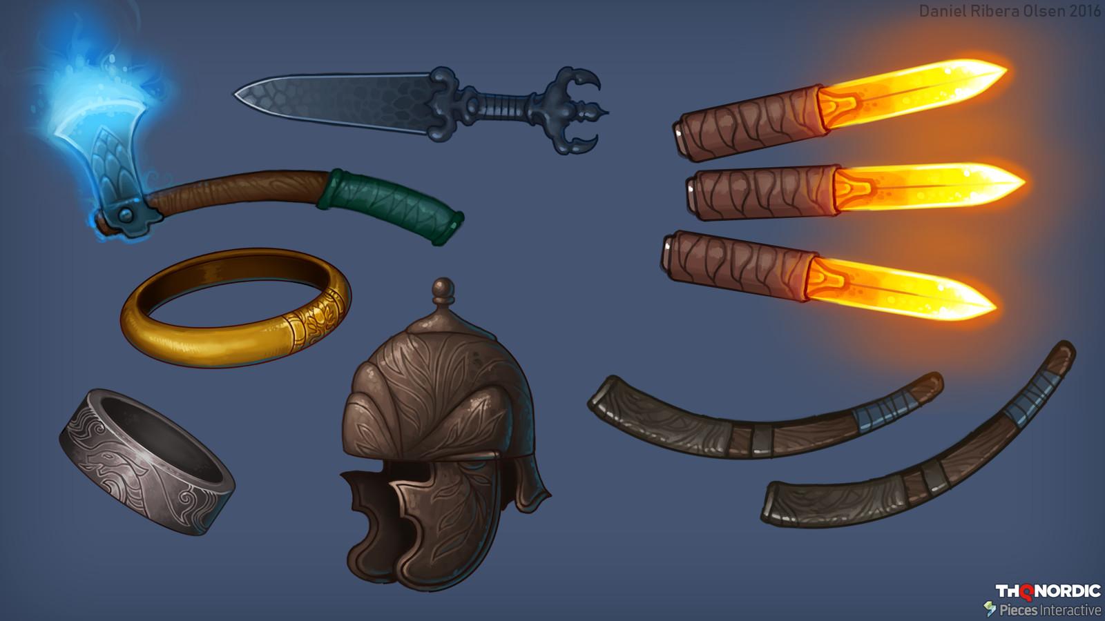 weapons/gear