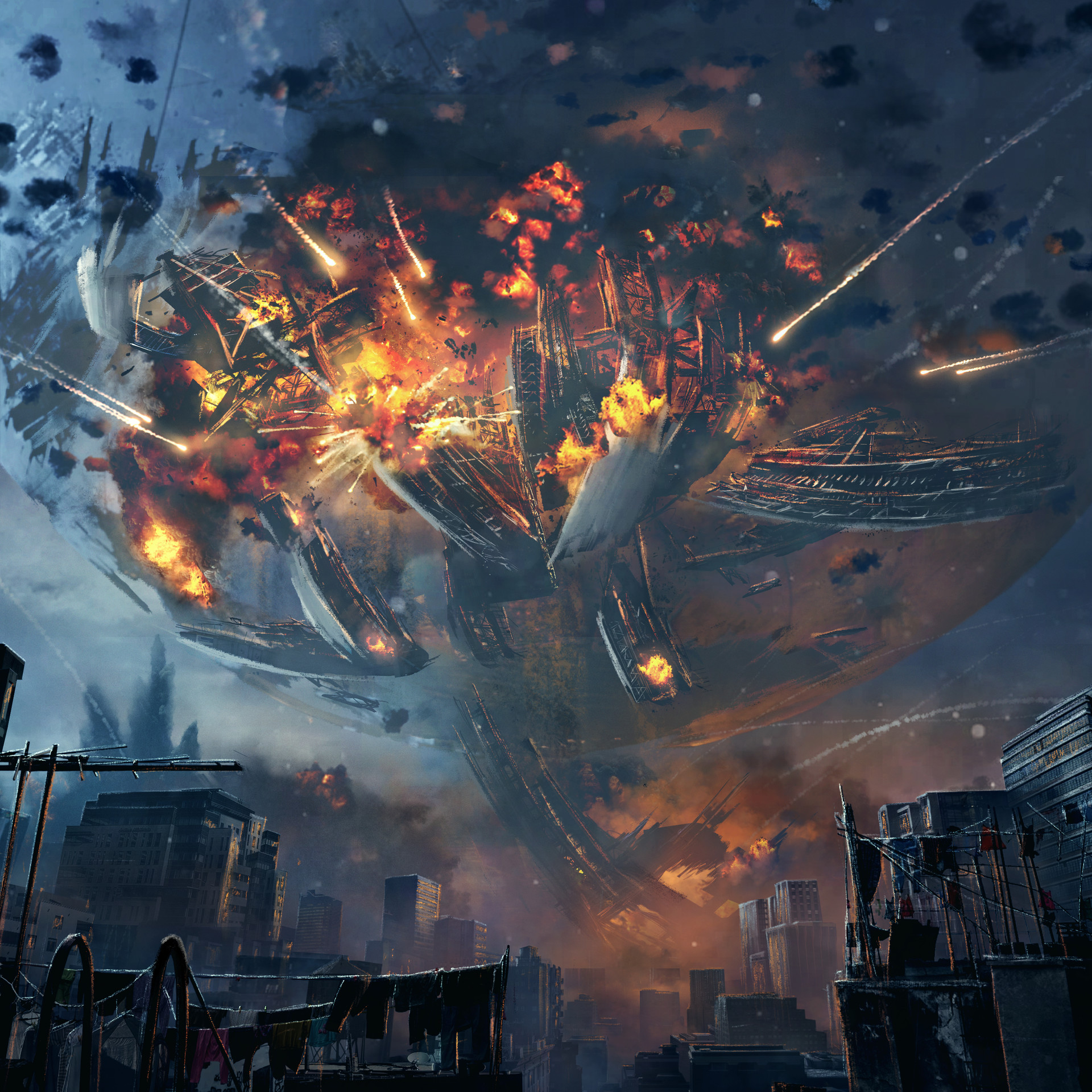 last city and traveller explosion