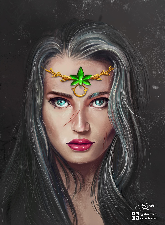 Hanaa medhat portrait 4