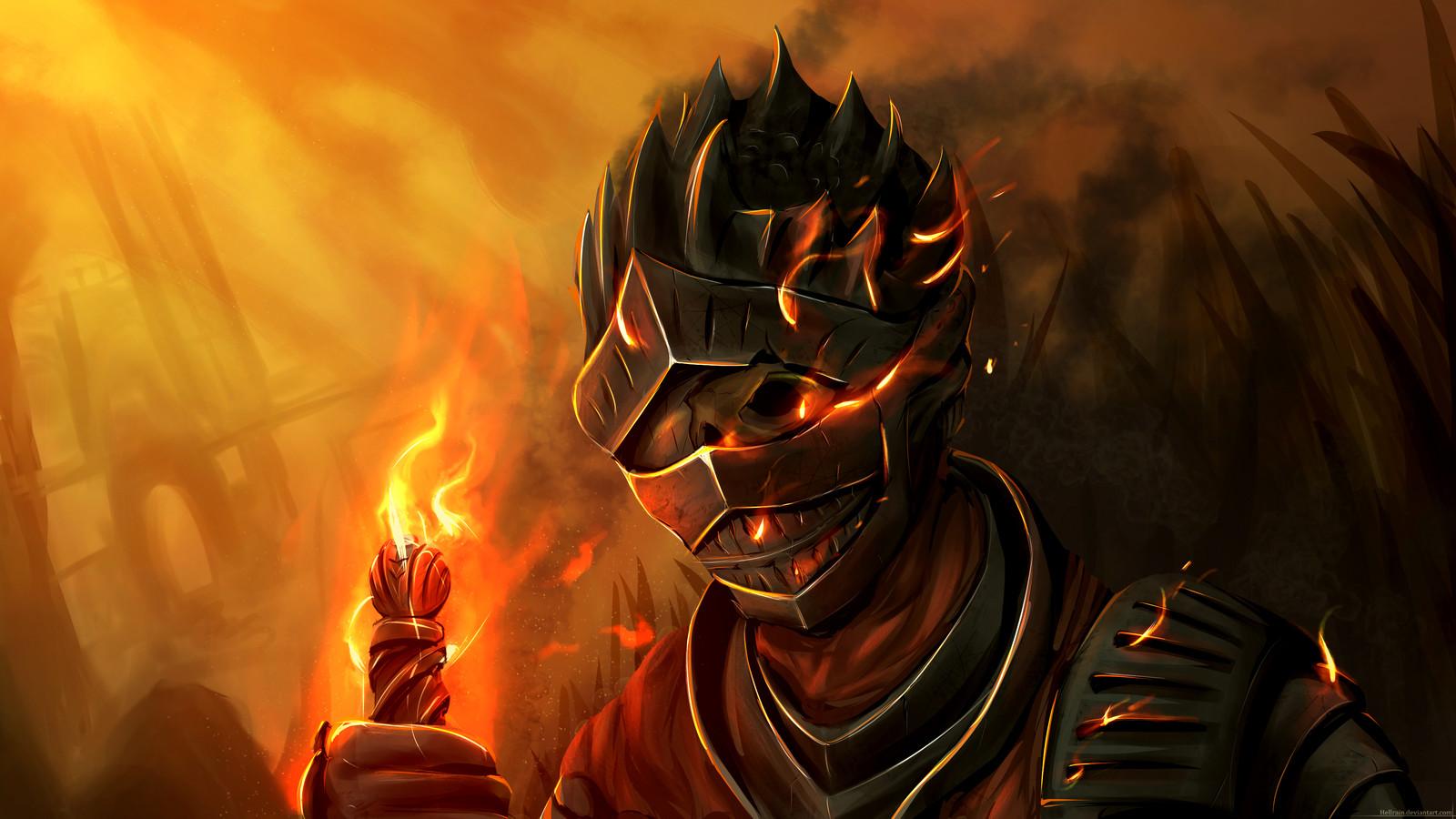 Artstation Dark Souls Fire Keeper Embrace Of Dark Phantom Rain