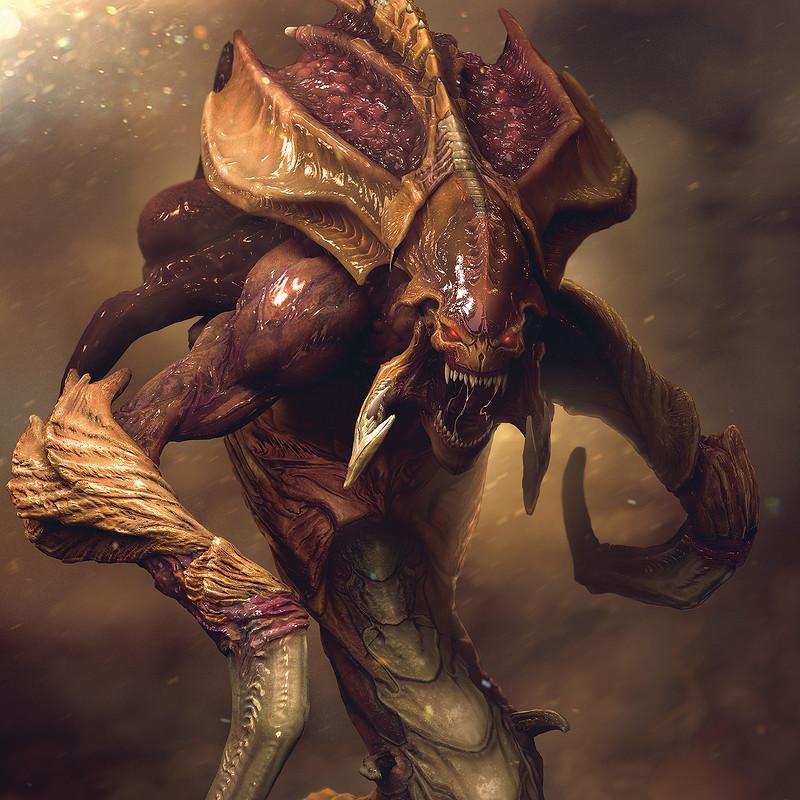 Starcraft remastered poster Shot