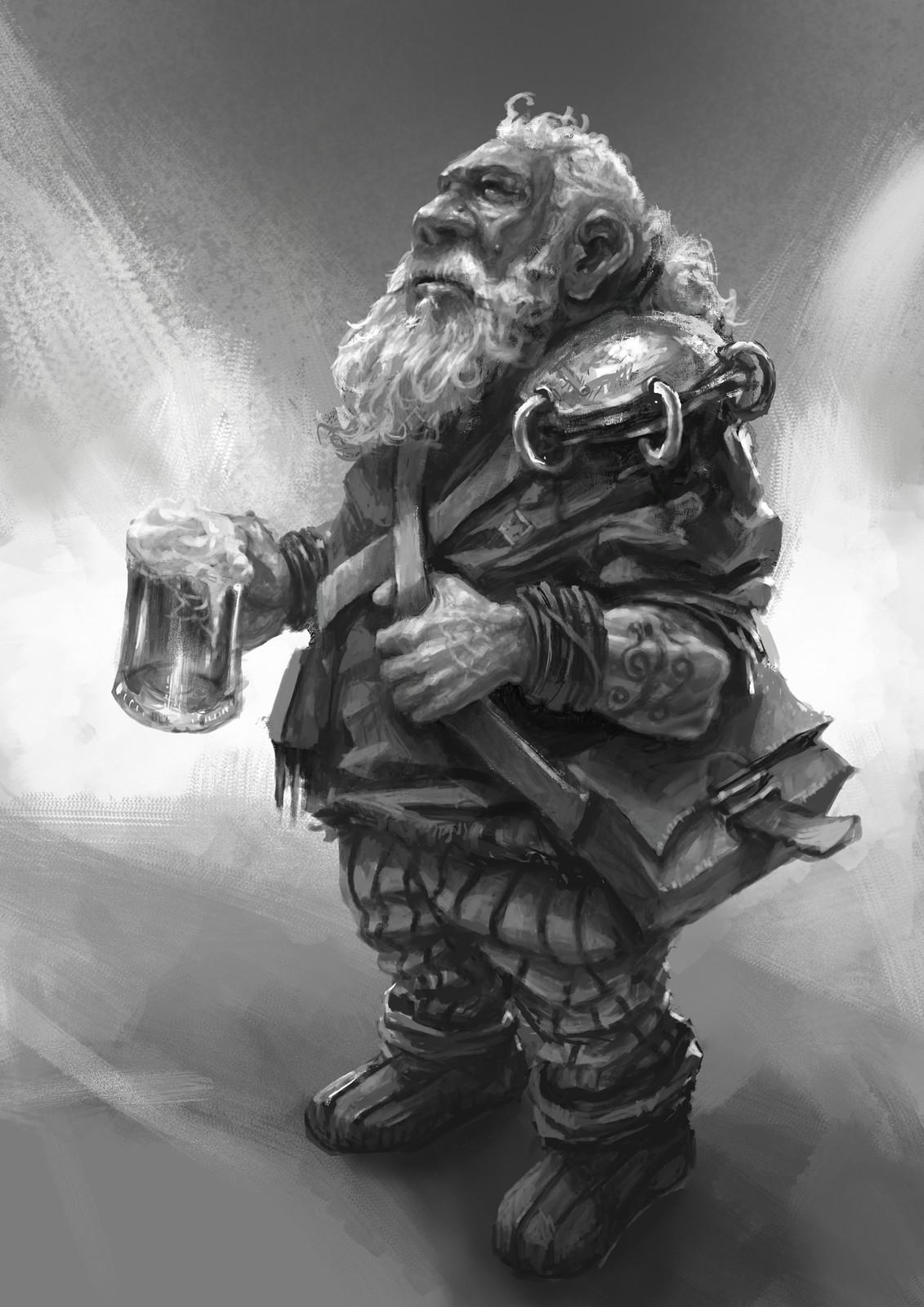 Dwarf after work