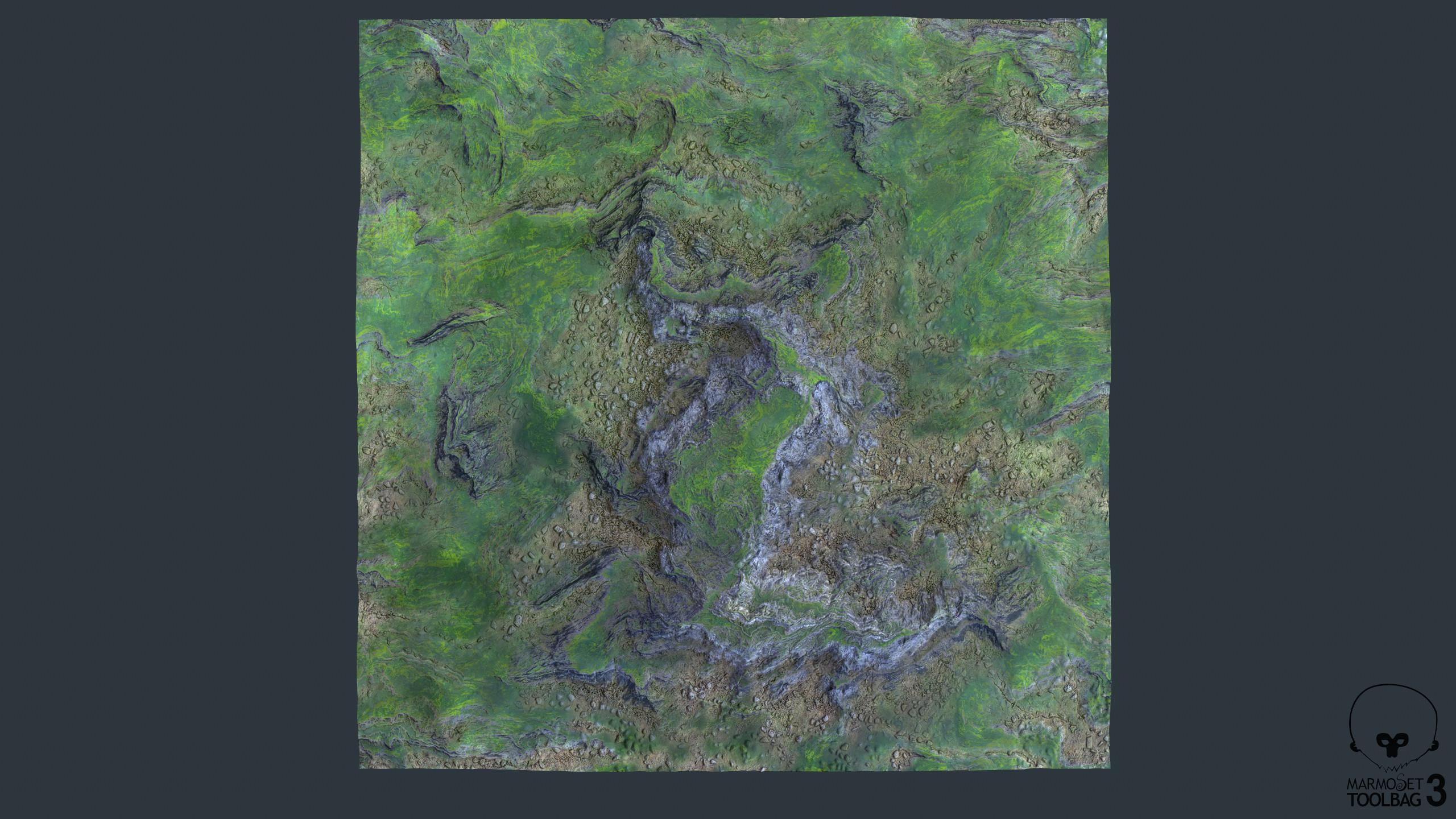 Overview 12k Tris,  4K textures