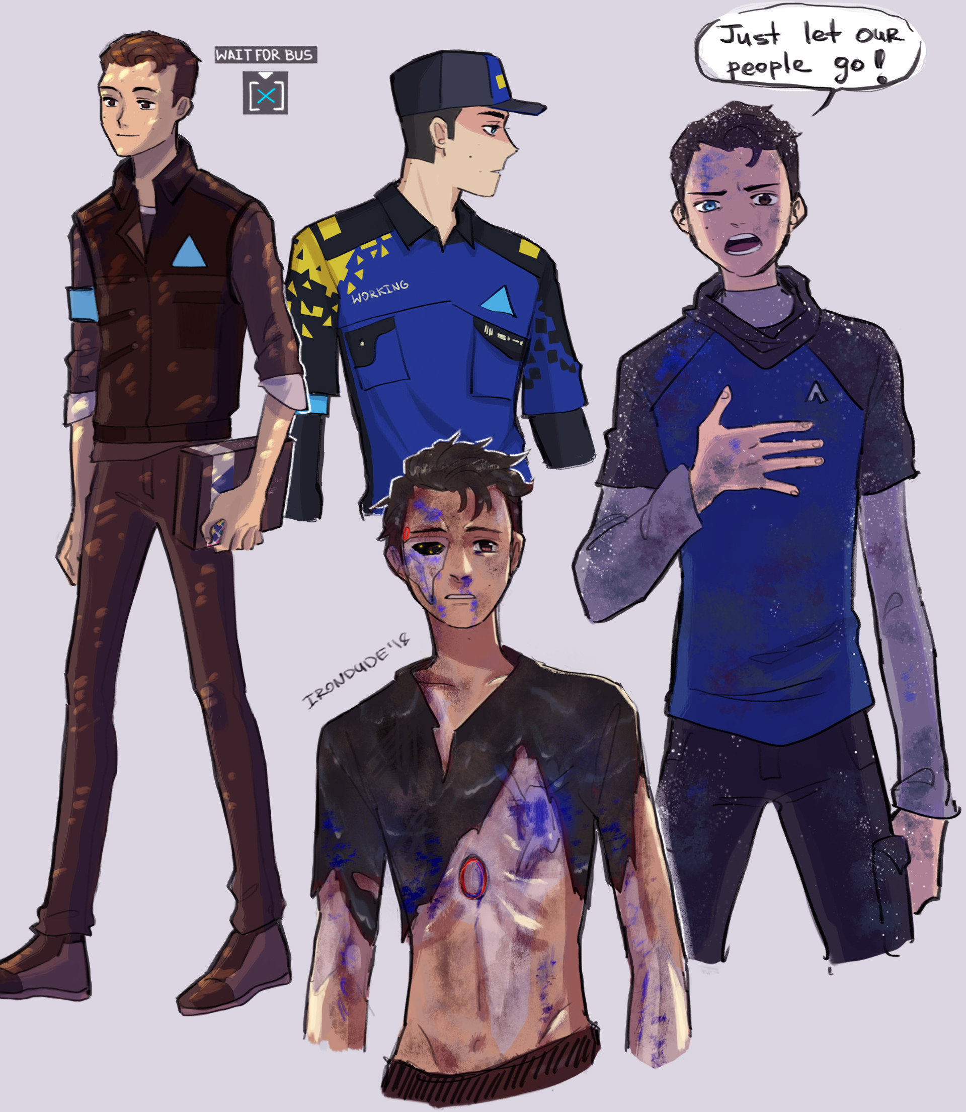 Artie irondude connor au