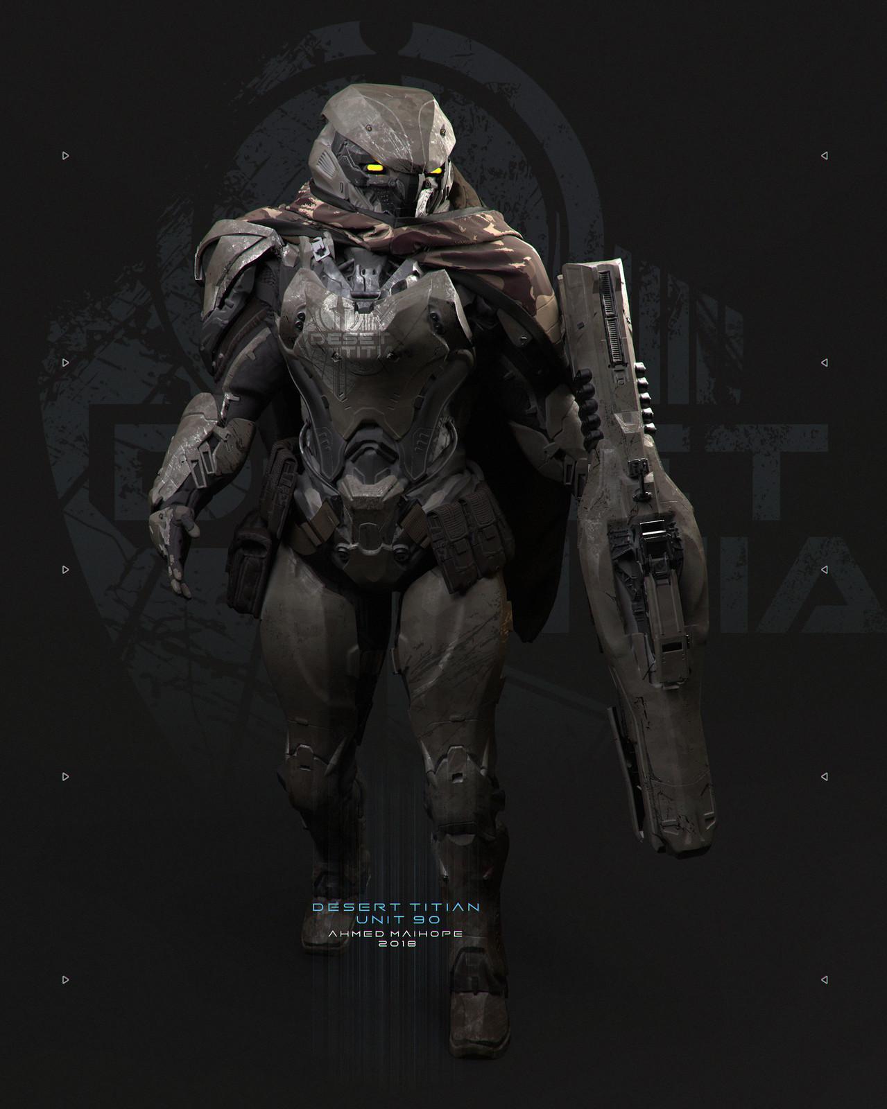 Desert Titan 90