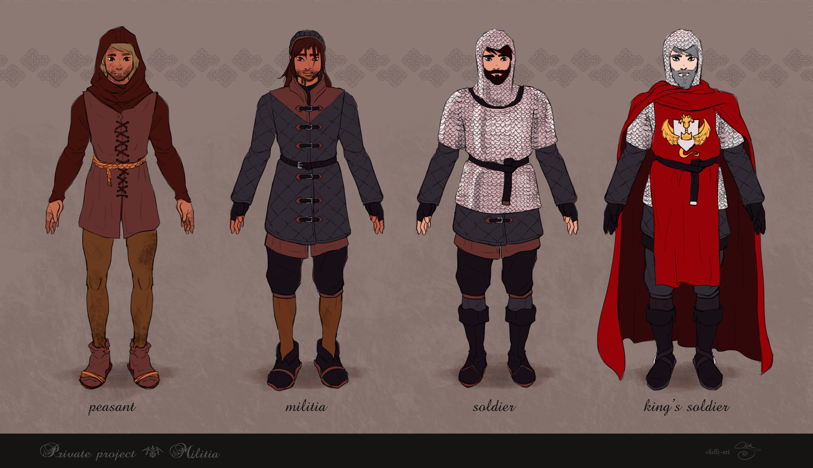 Militia Concepts (Male)