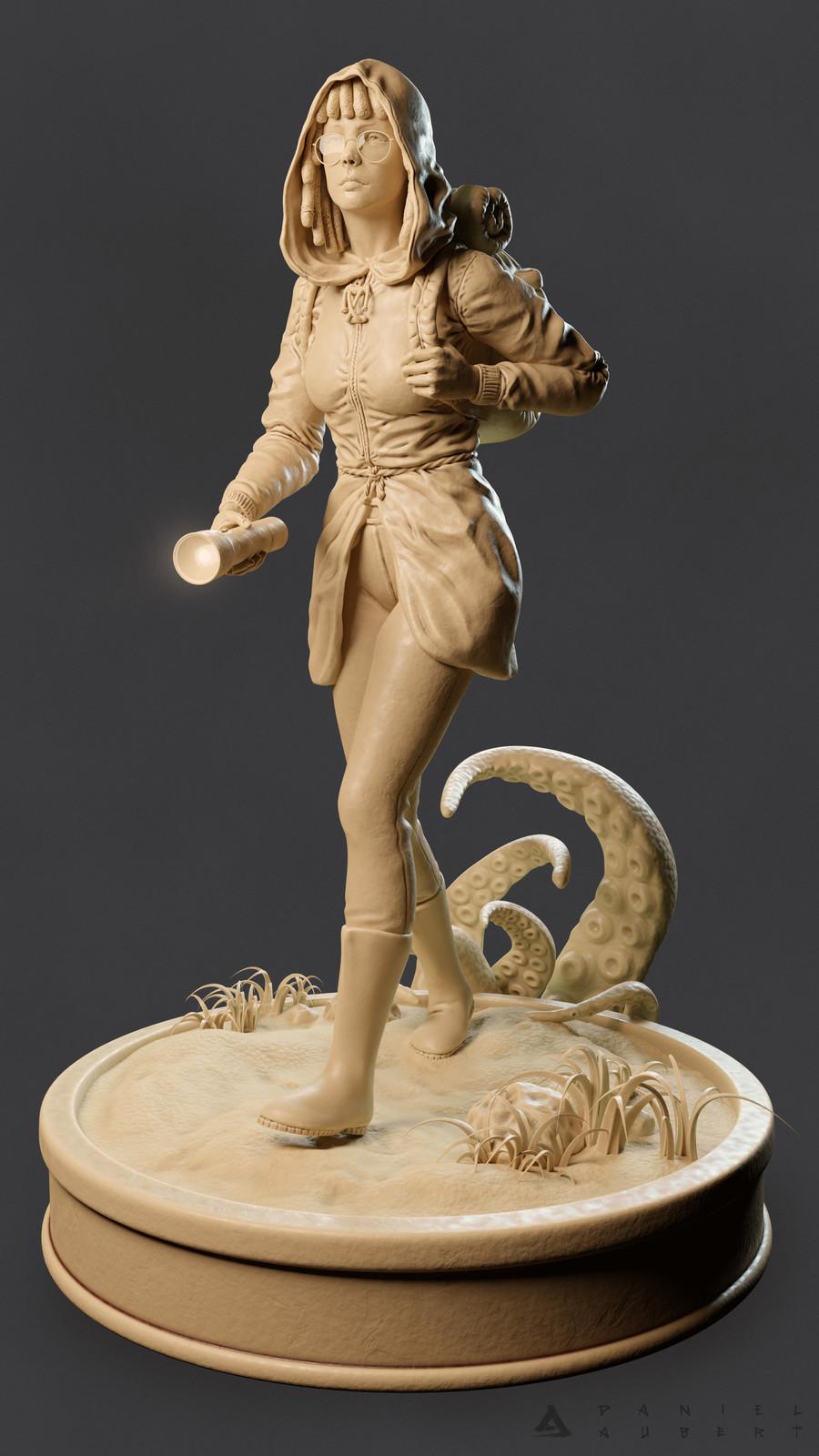 Lost - Blender sculpt
