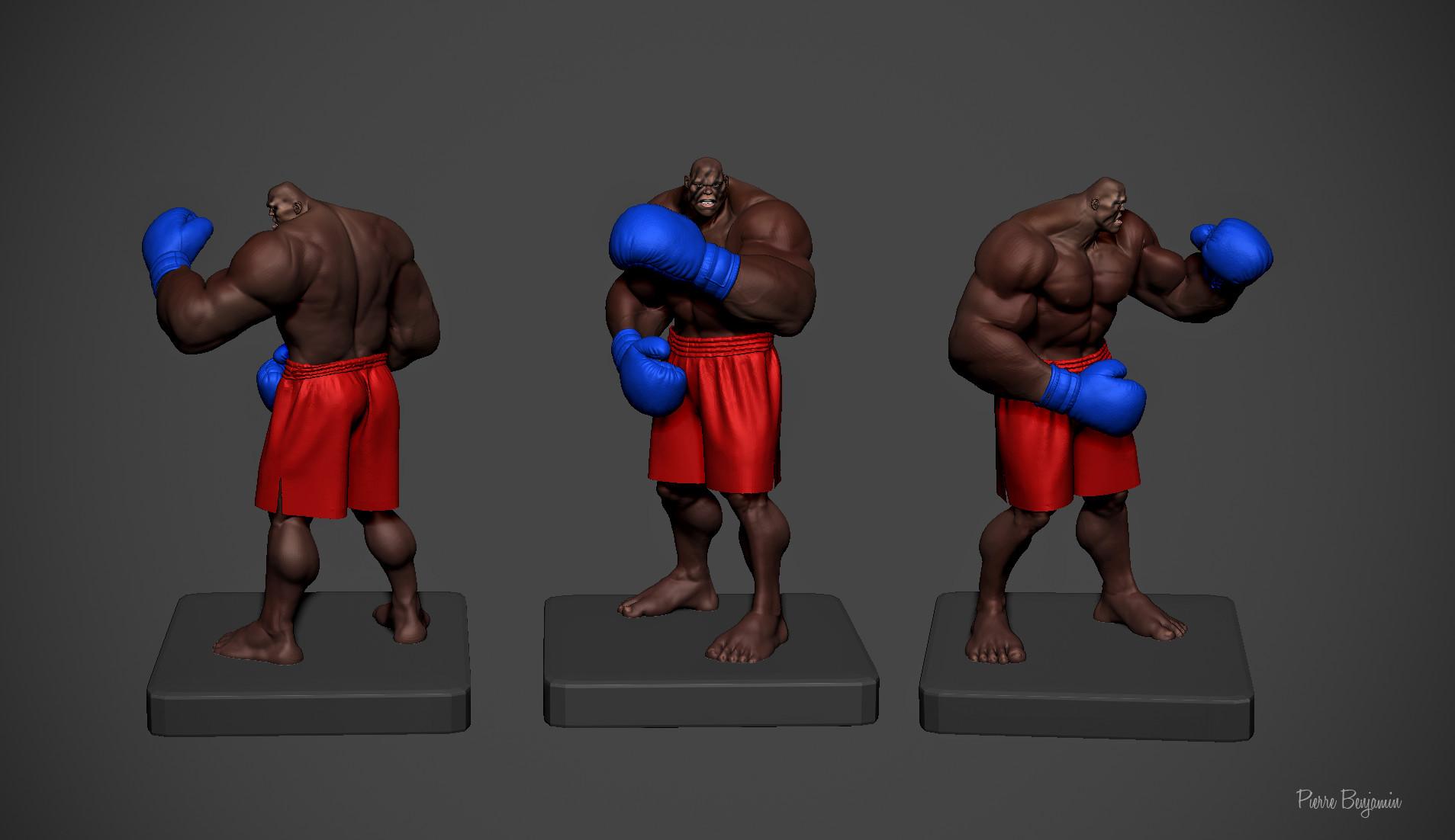 Pierre benjamin boxer new e