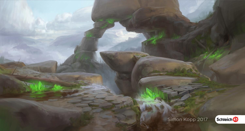 Simon kopp schleich worlds stone