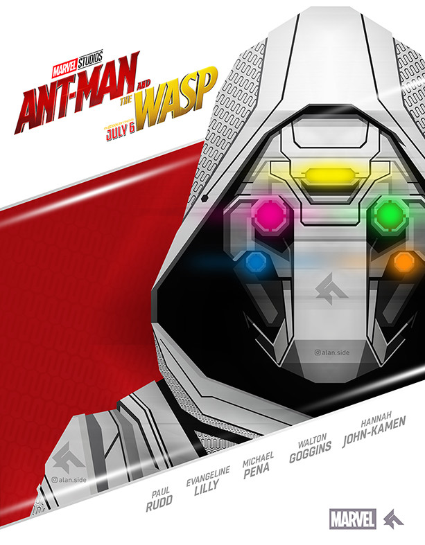 Artstation Ghost Poster For Ant Man And The Wasp Movie