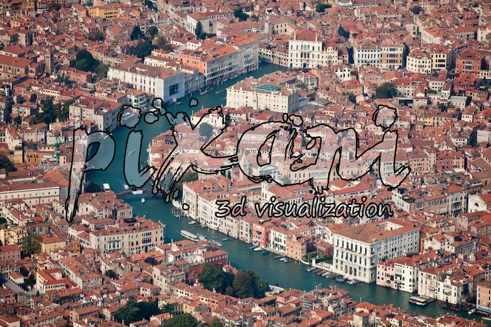 P I X A N I visualization - VENICE 2013  all city 3D modeling