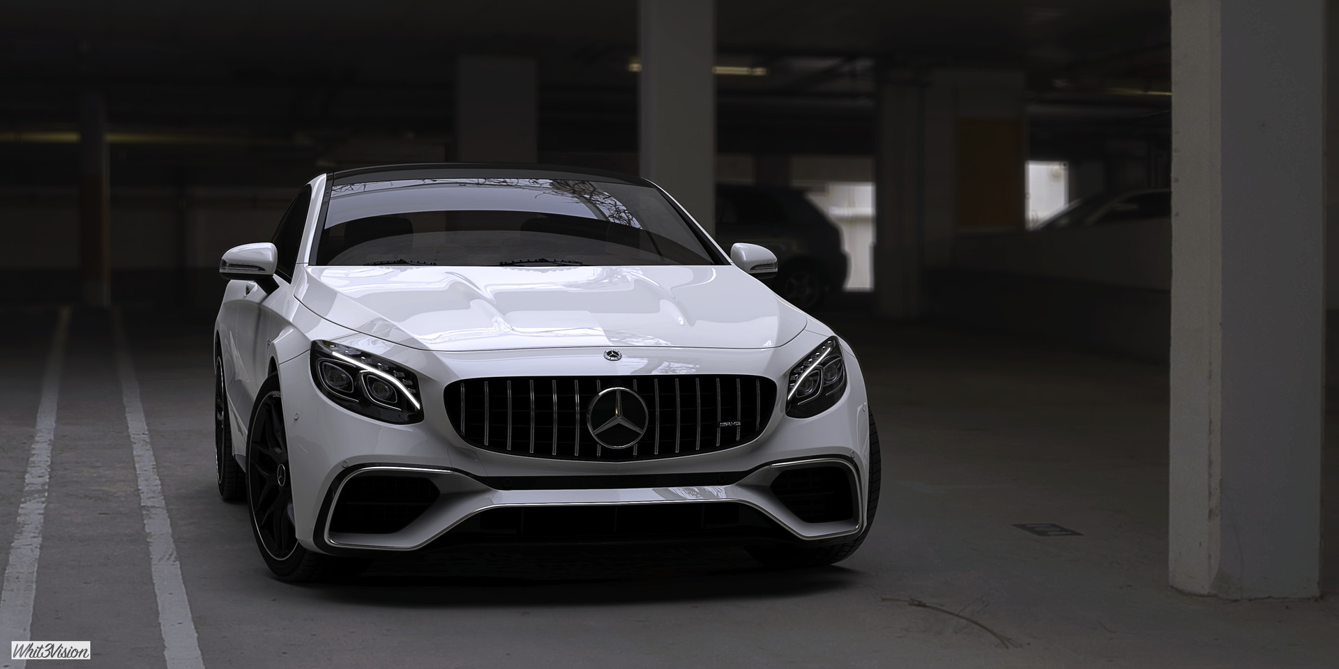 S63 Amg Coupe >> Artstation Mercedes Benz S63 Amg Coupe 2018 Vladimir