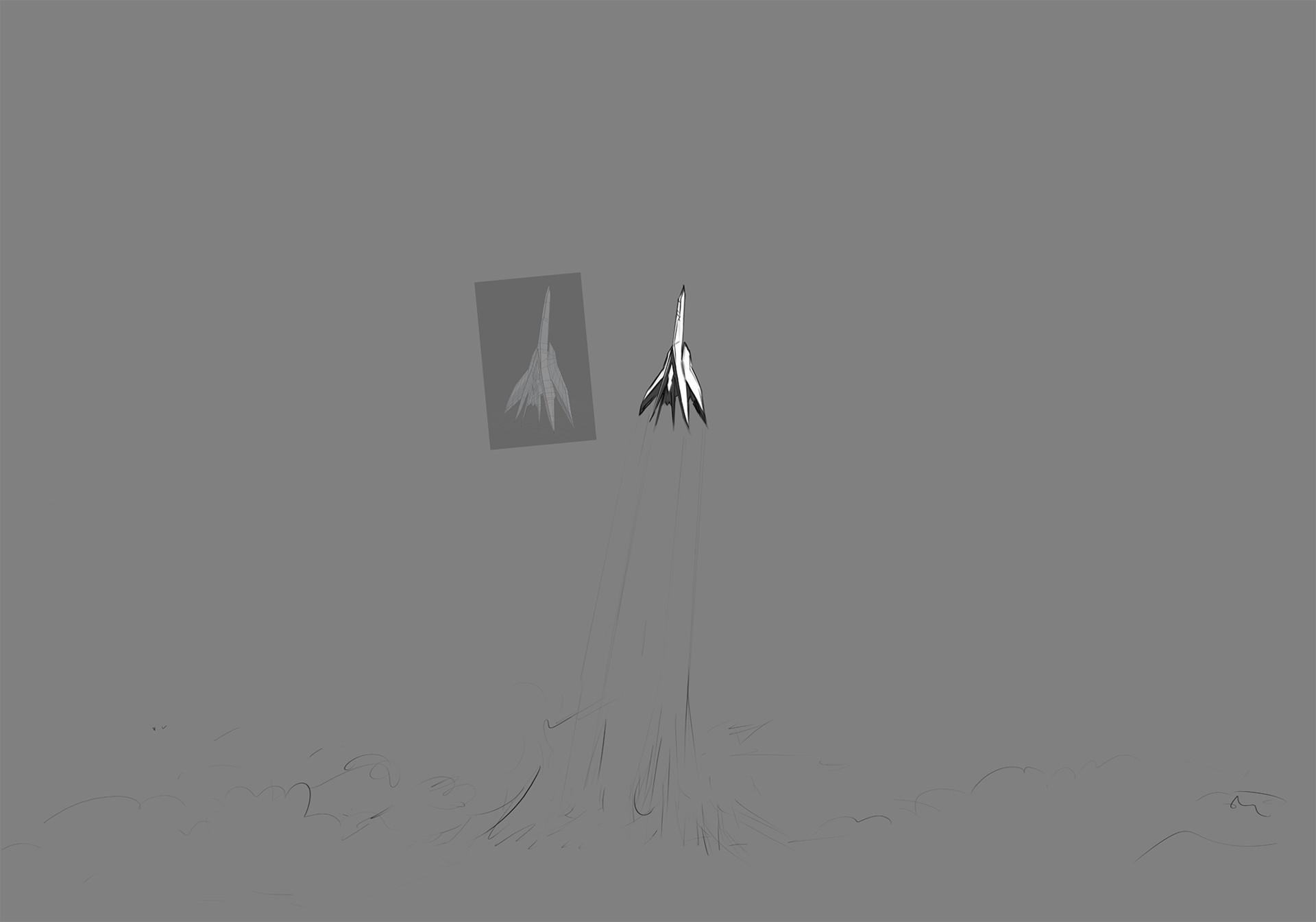 Shoji ushiyama iakan ascend sketch