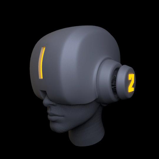 Iain gillespie cyberpunk helmet 01
