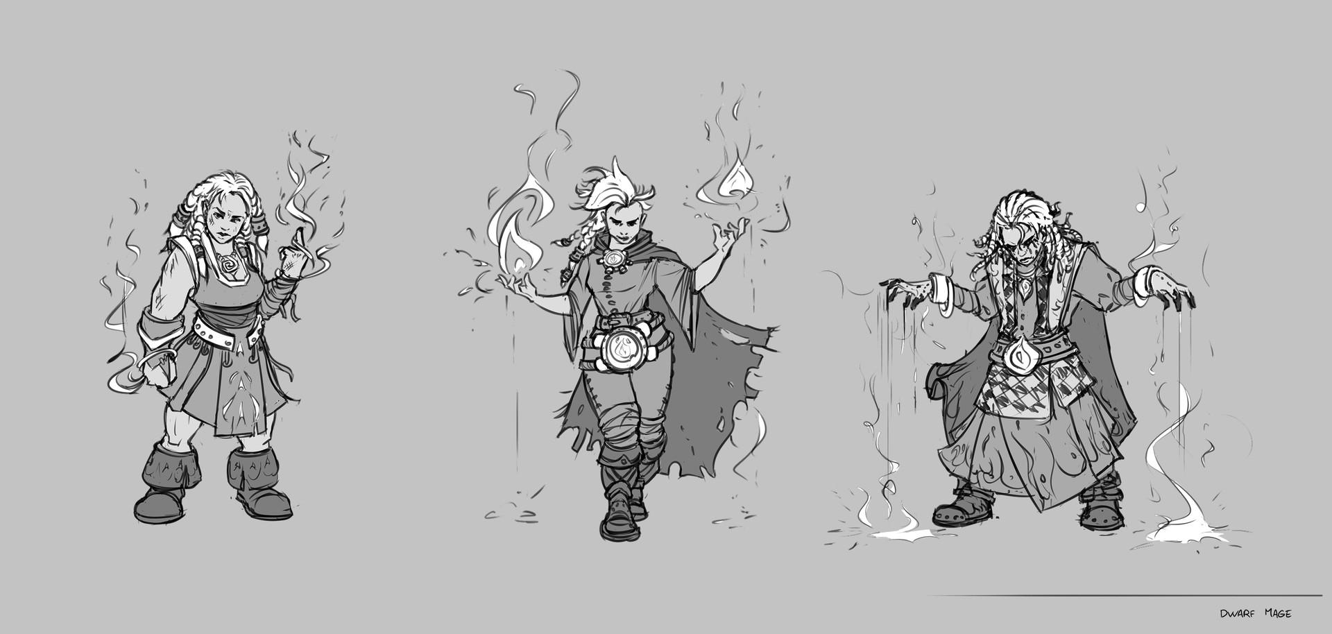 Jonas petrauskas dwarf daryaredgold sketch
