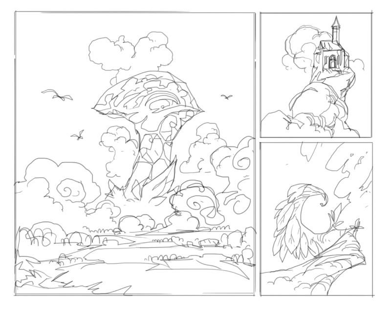 Daniel lieske cloudchapel sketch