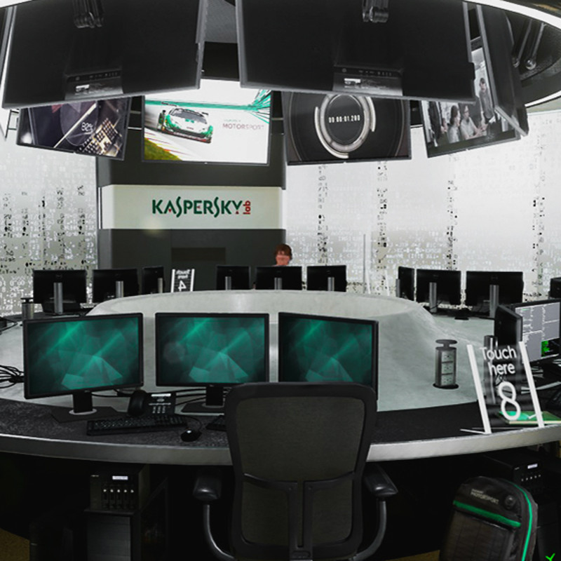 Kaspersky Lab VR project made in Unreal Engine 4