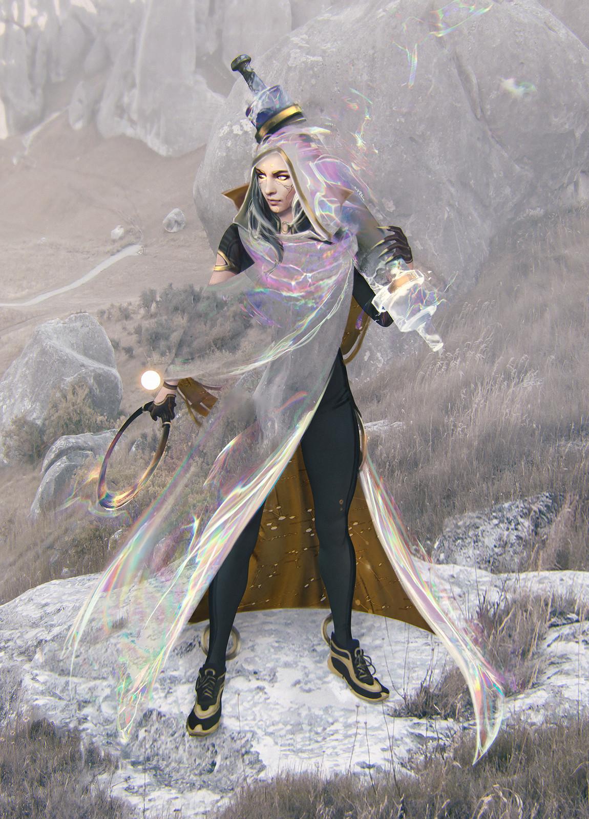 DR: Fame - royal cloak design
