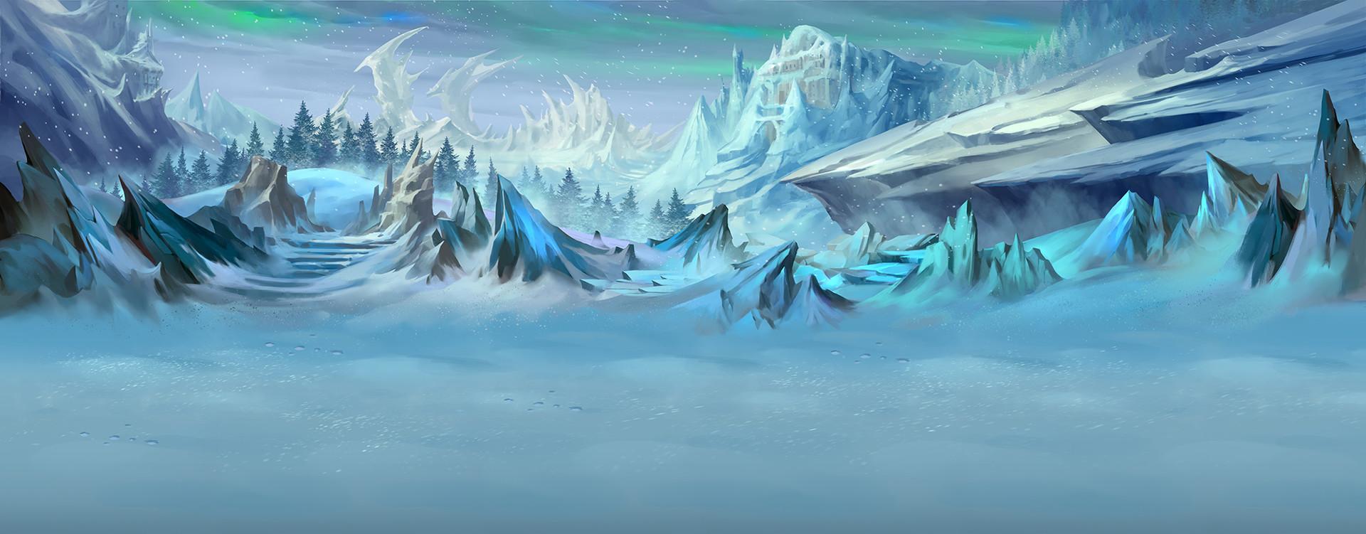 Trung nguyen winter bg