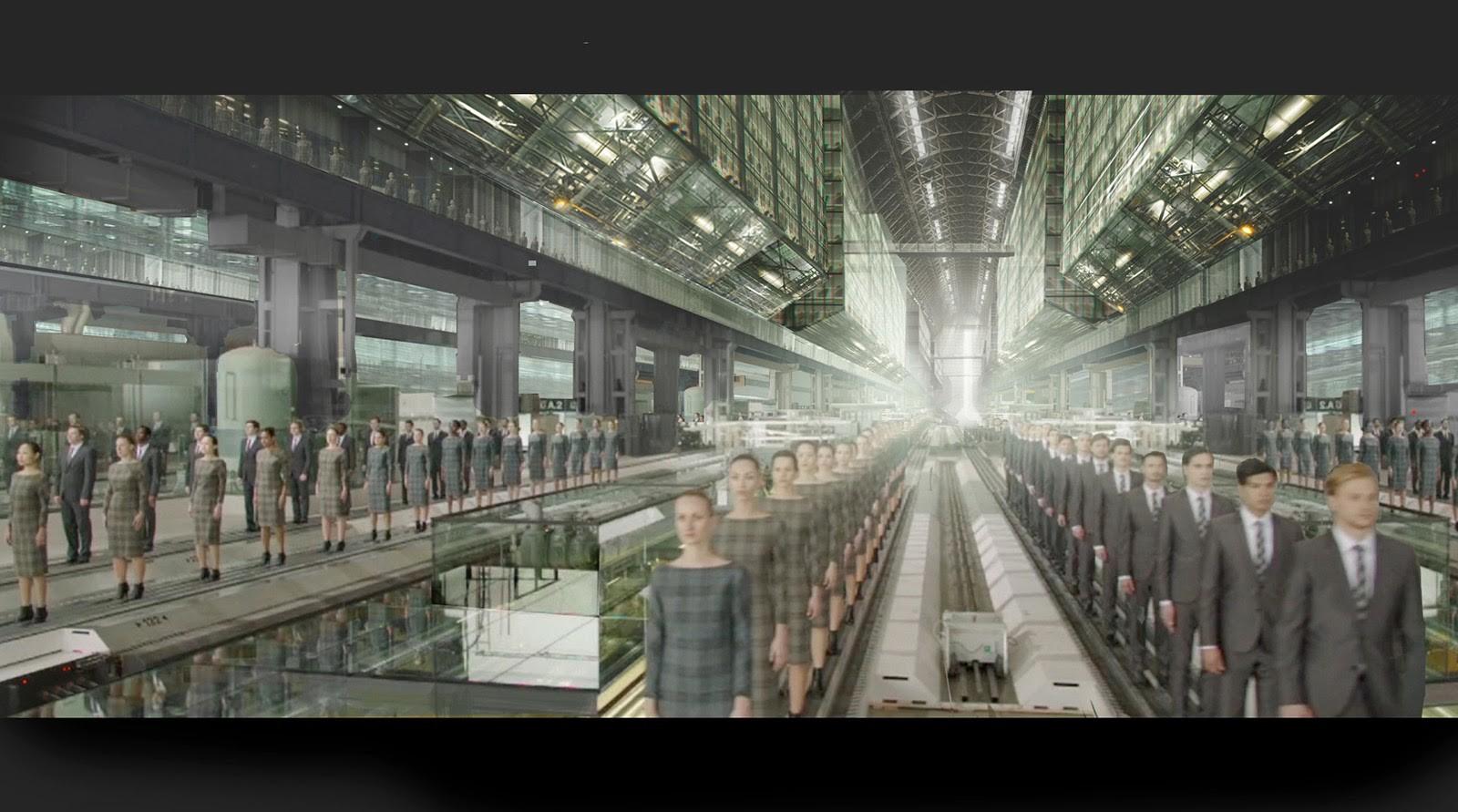 Infiniti Q50 - 'Factory of Life'