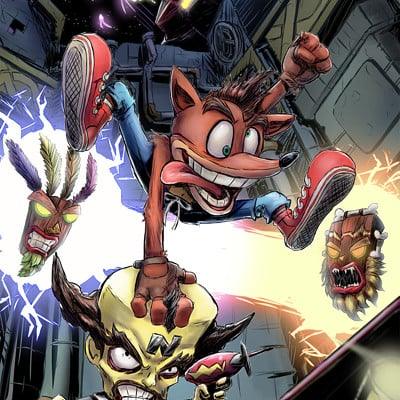Adam fitts crash bandicoot