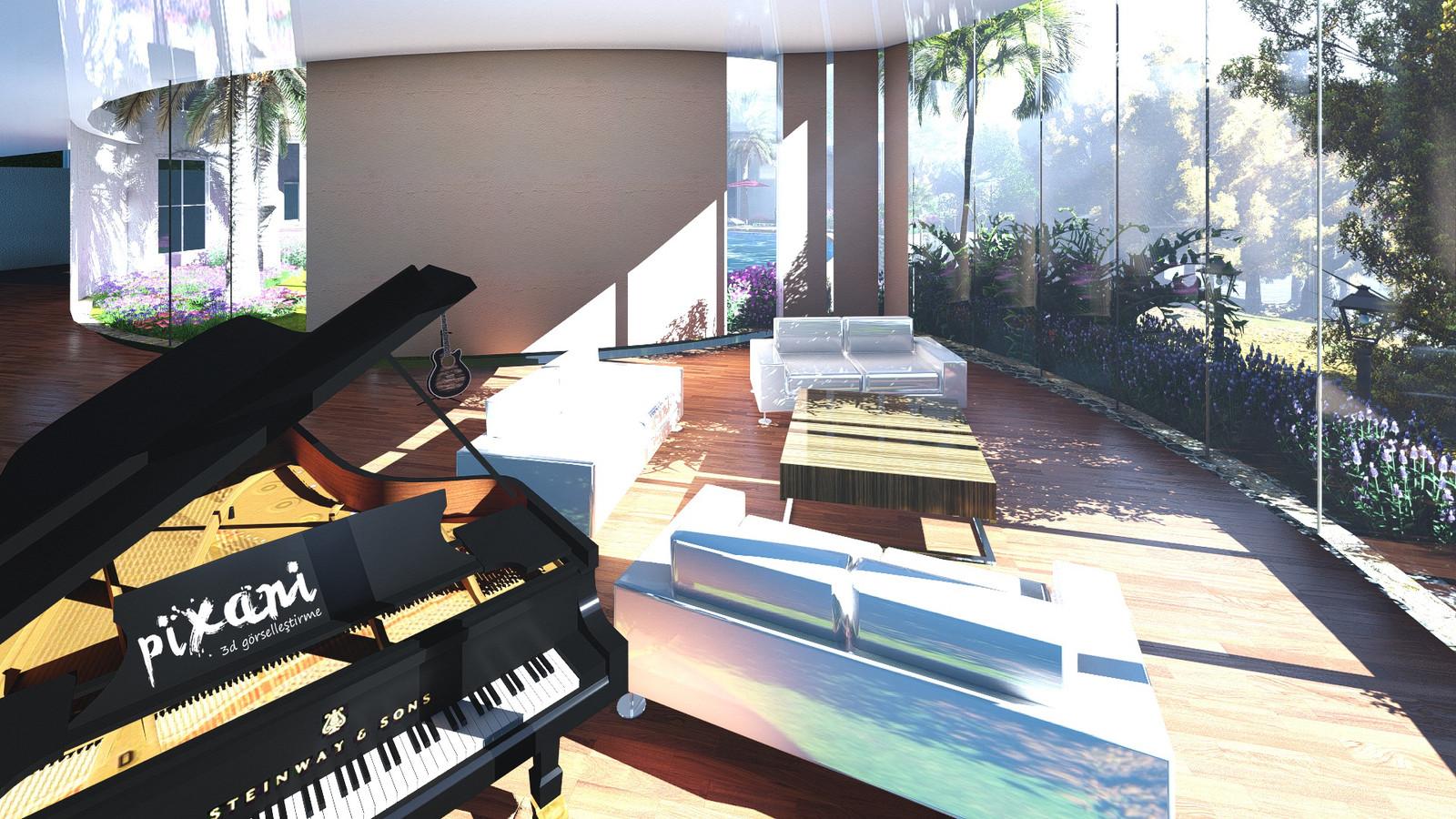 BEAN house living room