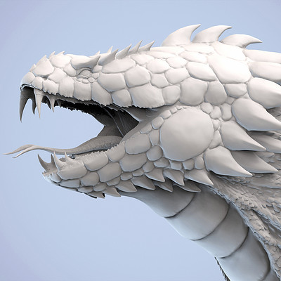 Jia hao 2018 basilisk digitalsculpting 01